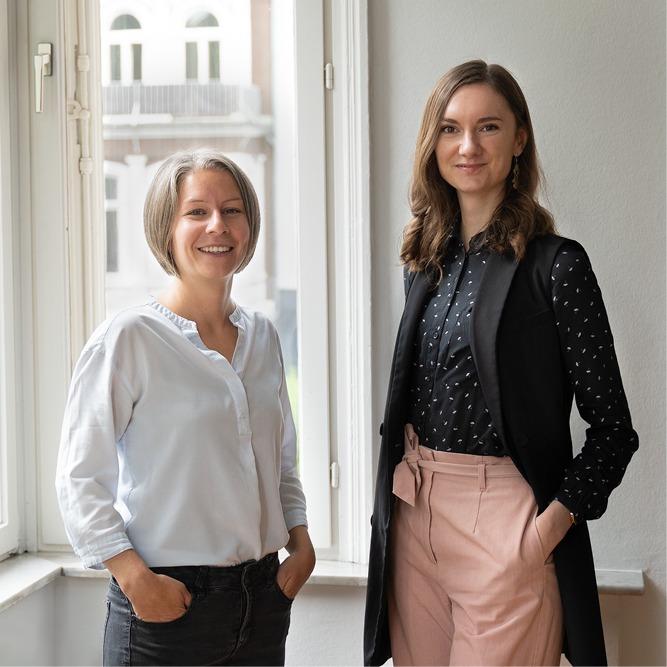 Neue Mitarbeiterinnen Mareike Lange und Julia Ortgies | Full Thinking Werbeagentur von Mende Marketing GmbH